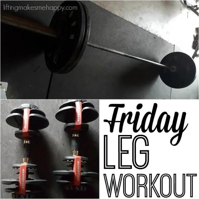Weekly Workout Recap #2 via liftingmakesmehappy.com