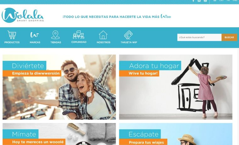 nueva pagina web wolala