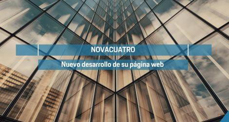 Novacuatro estrena nueva web de la mano de Lifting Group