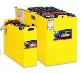 forklift motive power industrial battery