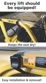 Clearcap - Forklift cover
