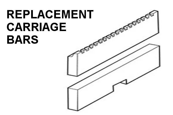 Replacement Forklift Carriage Bar Weldments