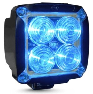LED Blue safety light