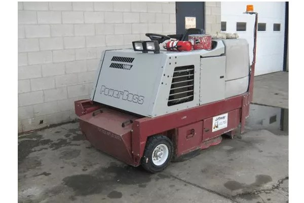 Used Sweeper - Power Boss 9820