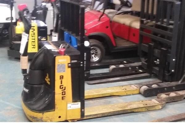 Big Joe Power Pallet Truck