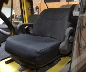Hyster H120XM seat assembly