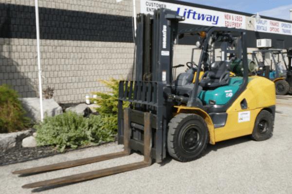 Komatsu FG50ATU-10 Used Forklift