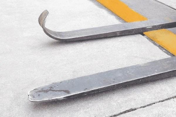 Damaged Fork