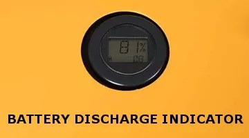 Battery Discharge Indicator