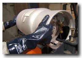 Forklift Propane Handling