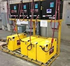 Forklift Battery Charging