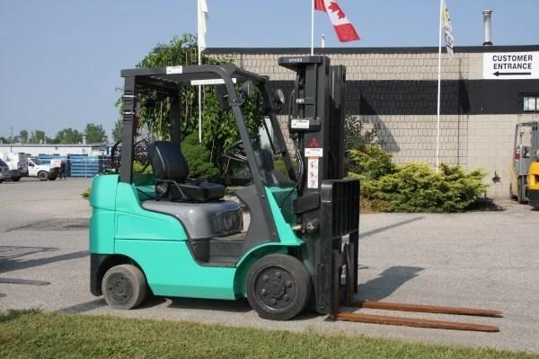 Used Mitsubishi FGC25N Forklift