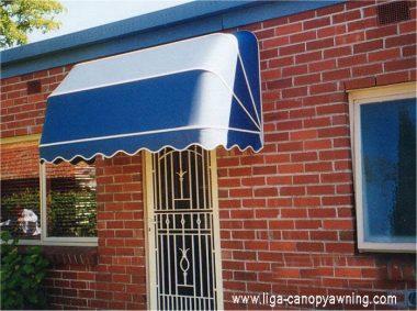 canopy kain minimalis