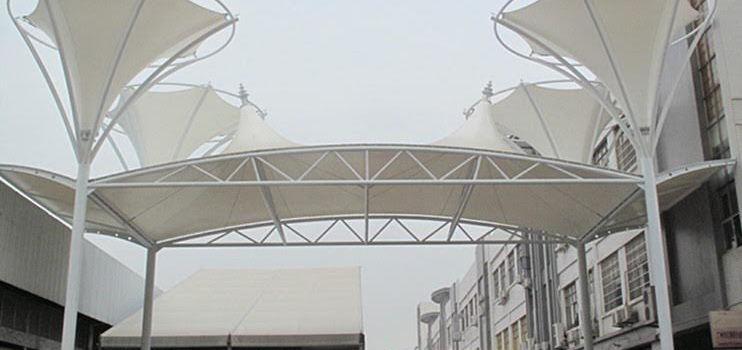 tenda membrane gedung