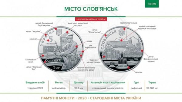 """Нацбанк вводит две новые памятные монеты """"Самійло Величко ..."""