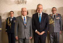 General Jorge Manuel Brochado de Miranda agraciado pelo Presidente da República