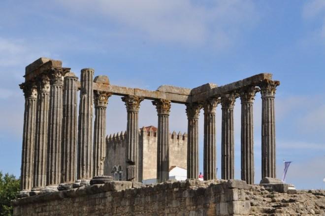 Évora Portugal - Templo Romano