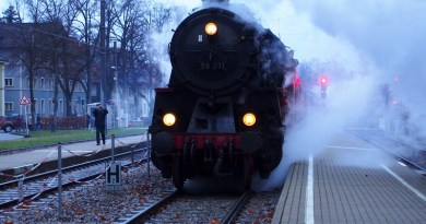 Nikolaus Dampfzug Ettlingen