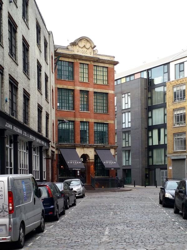 Comer em Londres - Jamie Oliver's Fifteen - Restaurante