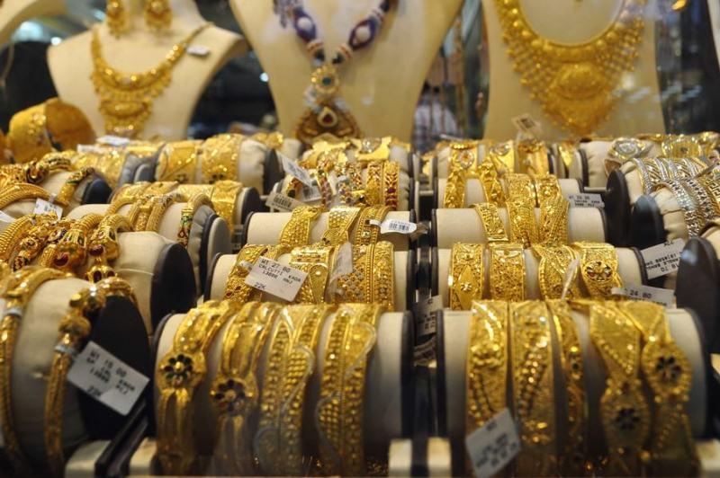 Dubai de graça - Muito dourado no Gold Souk