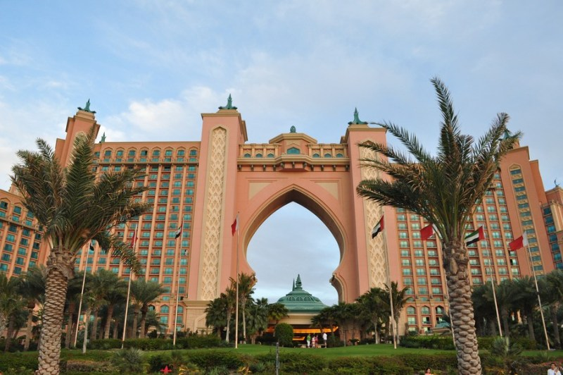 Hotel em Dubai - O imponente Atlantis The Palm Resort no Palmeira Jumeirah