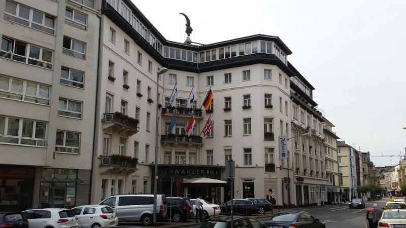 Wiesbaden na Alemanha - Hotel Schwarzer Bock Radisson