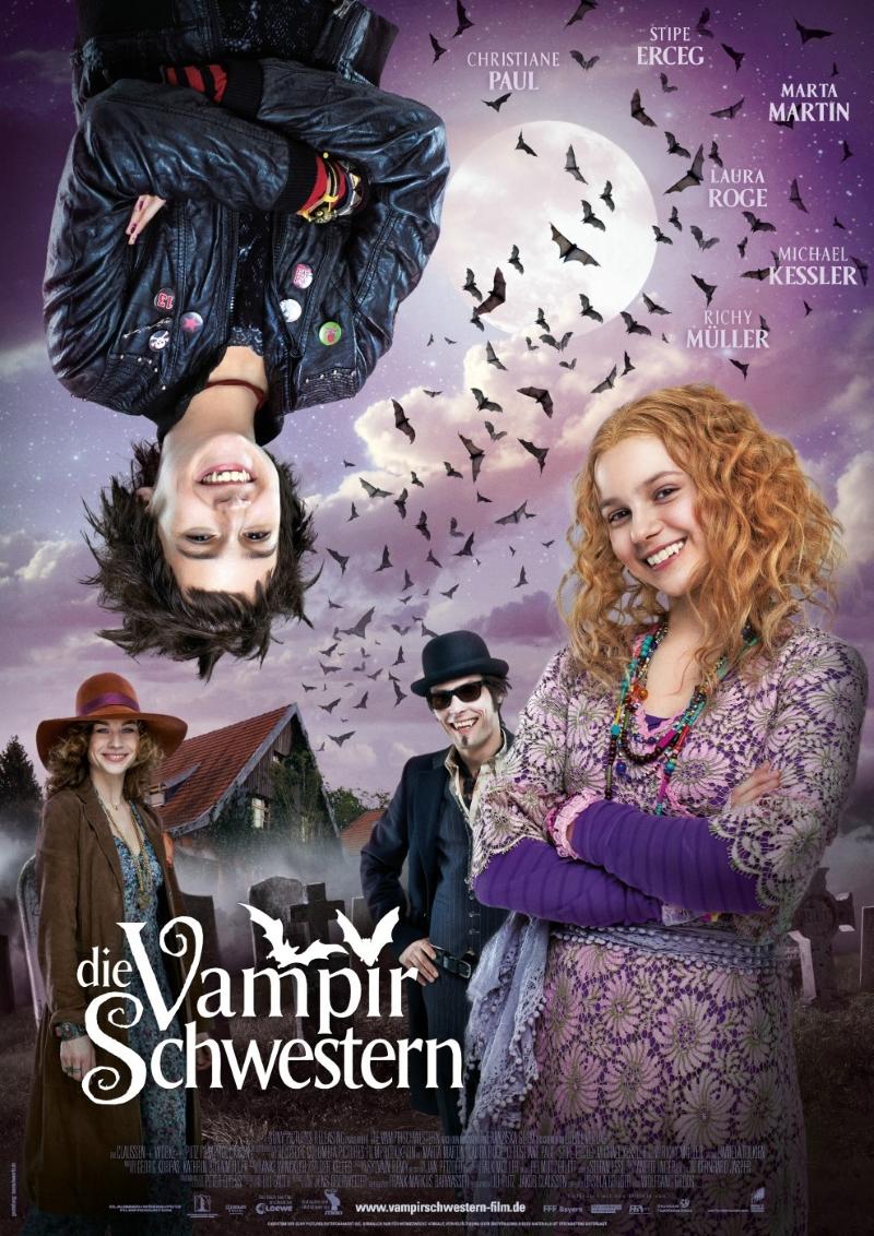 Crítica do Filme As Irmãs Vampiras (Die Vampirschwestern, 2012) - Cartaz