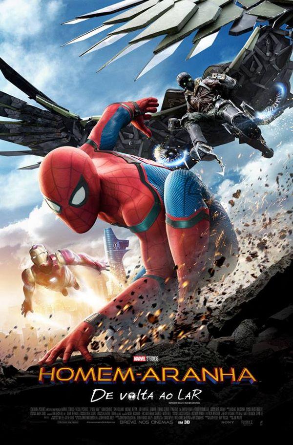 Crítica Filme Homem-Aranha De Volta ao Lar Spider-Man Homecoming 2017 - Poster