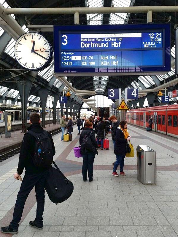Koblenz Alemanha - Estação Central de Karlsruhe