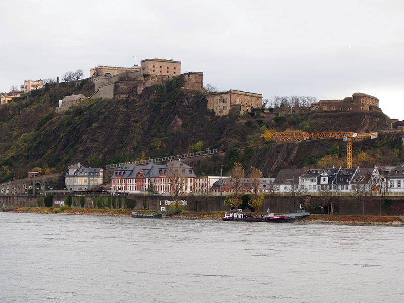 Koblenz Alemanha - Festung Ehrenbreitstein