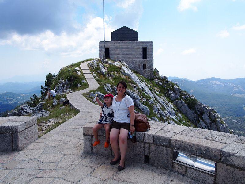 Parque Nacional de Lovcen Montenegro - Vista do Mausoléu