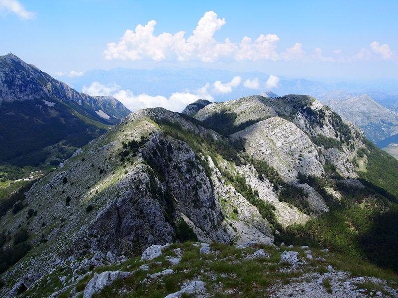 Parque Nacional de Lovcen Montenegro - Vista do Parque