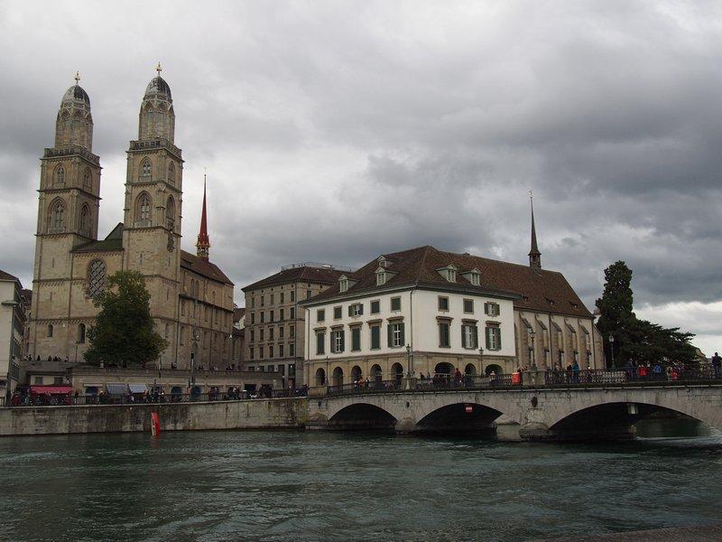 O que fazer em Zurique - Grossmünster Kirche