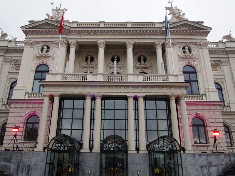 O que fazer em Zurique - Ópera de Zurique