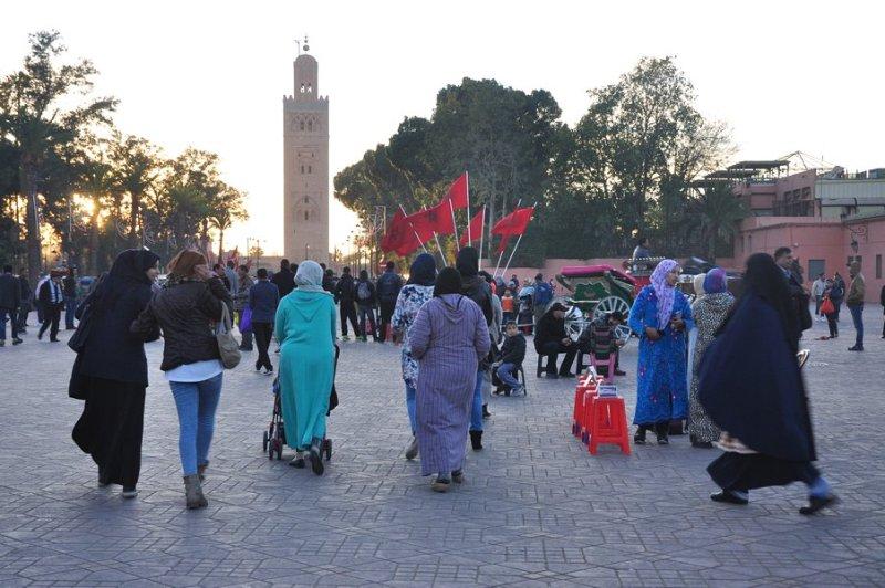 Dicas Viagem Marrakech em Marrocos - Vestimentas em Marraquexe