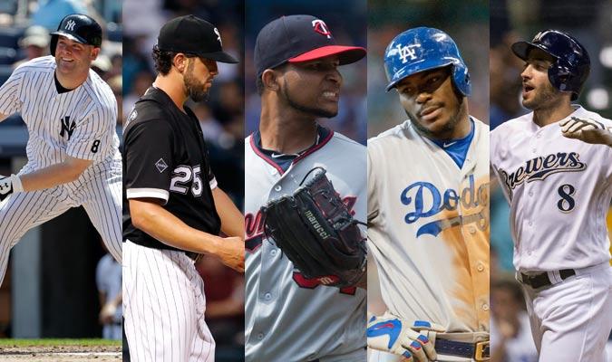 Cinco posibles cambios de jugadores en las Grandes Ligas