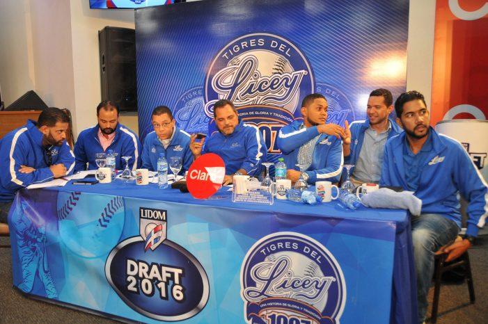 Miguel Gómez primera selección del Licey