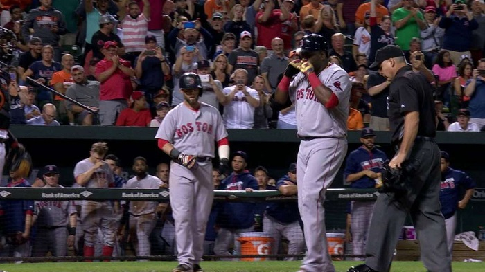 VIDEO: Ortiz llega a 35 jonrones, Boston vence a Orioles