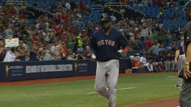 Boston doblega a Rays en noche histórica para David Ortiz