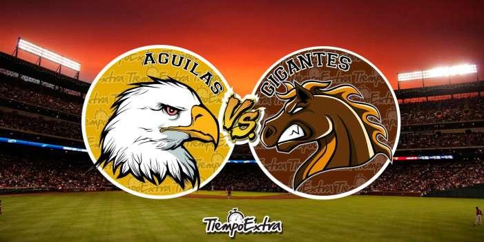 BOXSCORE: Gigantes vs Aguilas : 20 Octubre