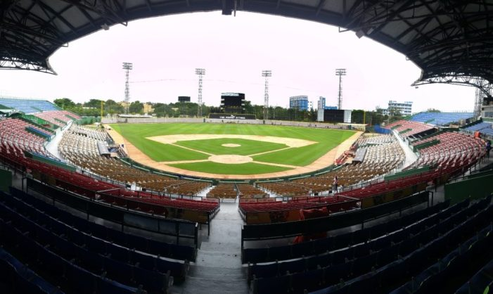 El estadio Quisqueya 'óptimo' para inicio del torneo béisbol invernal