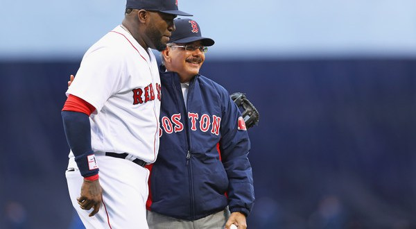 VIDEO: Danilo Medina asiste a la despedida de David Ortiz