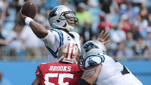 Newton queda descartado para el partido contra los Buccaneers