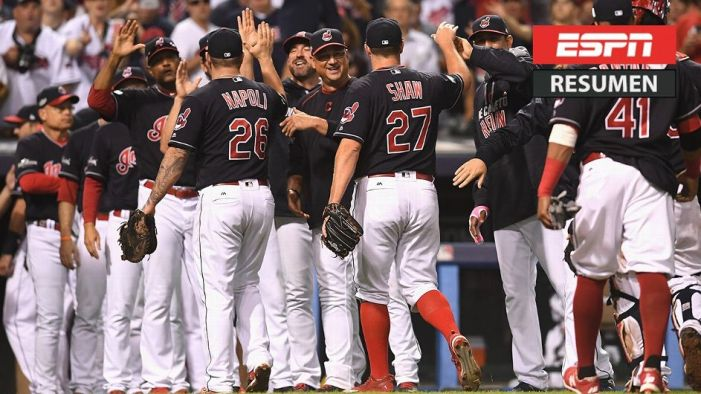 #VÍDEO: Indios a uno de eliminar a Boston