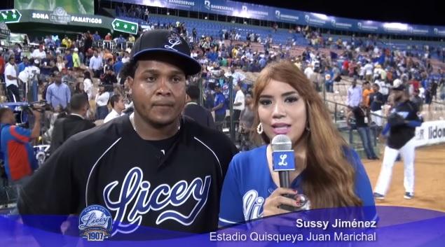 #VÍDEO: Entrevista a Anderson Hernández después de dejar en el terreno a Las Aguilas