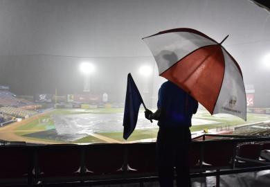 Pospuesto por lluvia el juego entre Estrellas y Águilas en el Estadio Cibao