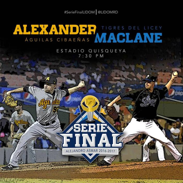 #Transmision #Aguilas 2 vs #Licey 5 – FINAL – #SerieFinal 2016-2017
