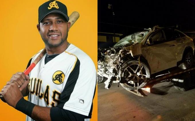 Fallece pelotero Andy Marte en accidente de tránsito