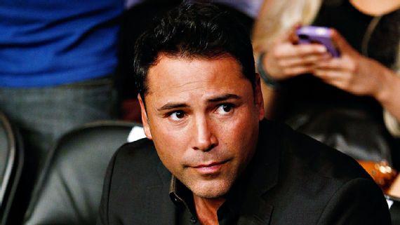 Arrestan a Oscar De La Hoya en California por conducir ebrio