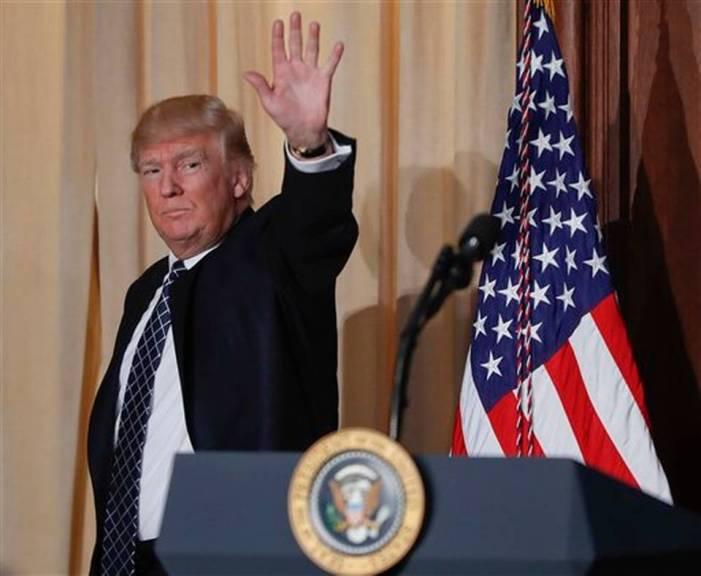 Nacionales: Trump declina invitación para primer lanzamiento